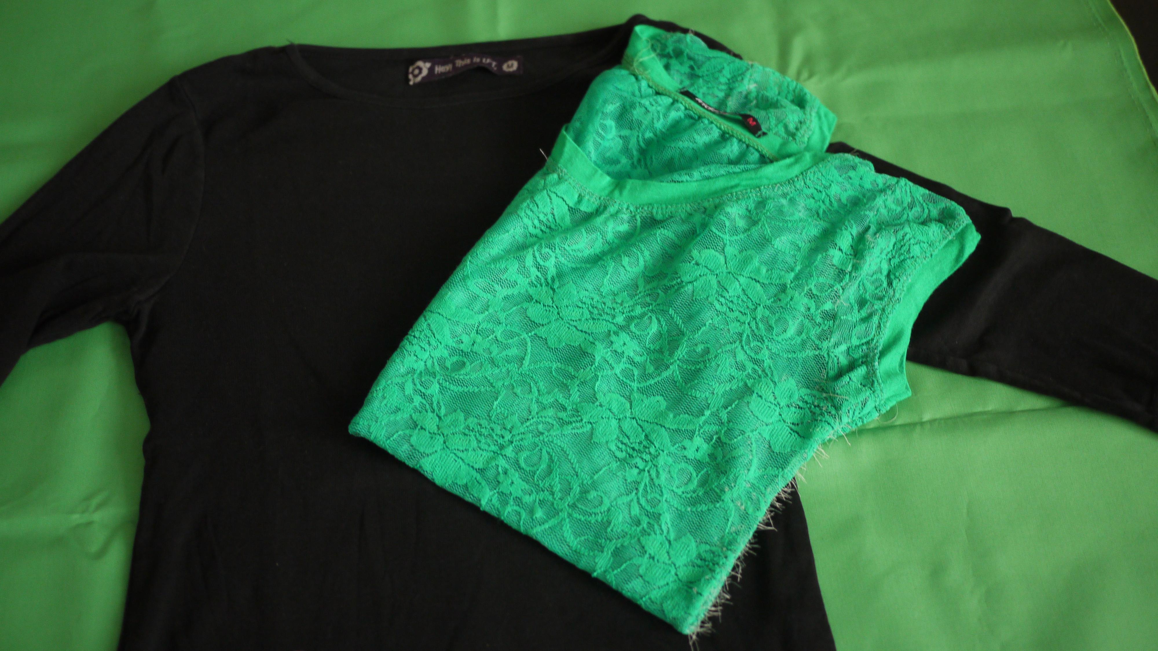 Customizar camiseta con encaje – KoserkonK