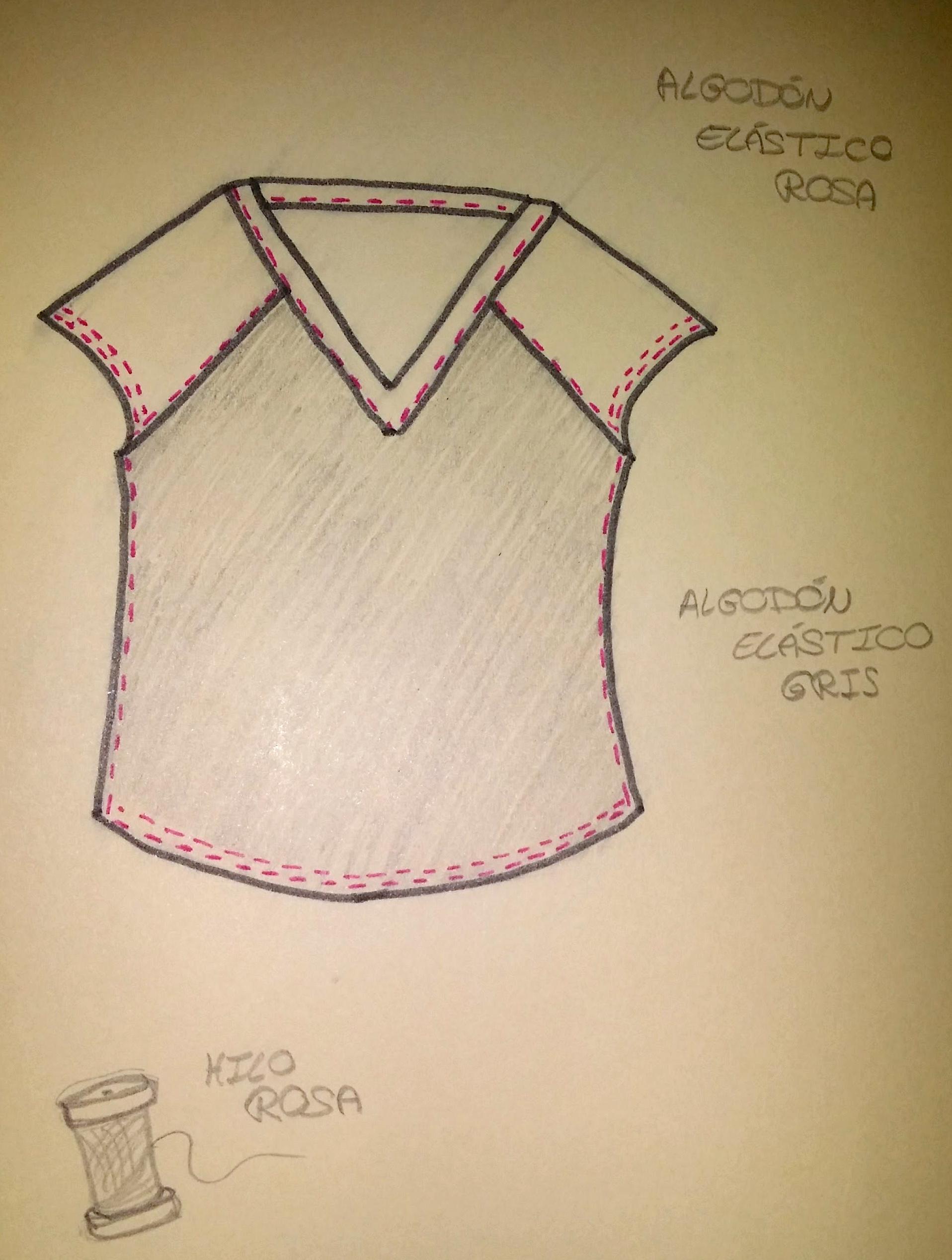 Como hacer una camiseta sin patrón – KoserkonK