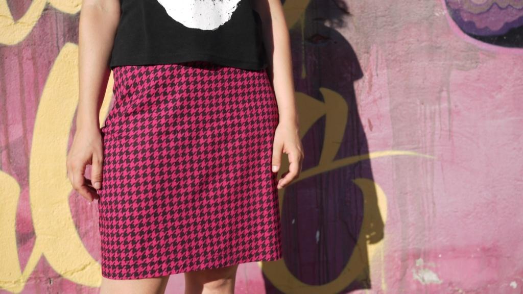 Como hacer falda recta