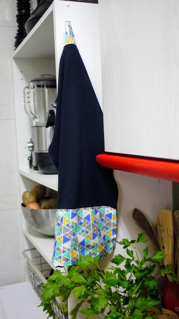 Trapos de cocina reciclados