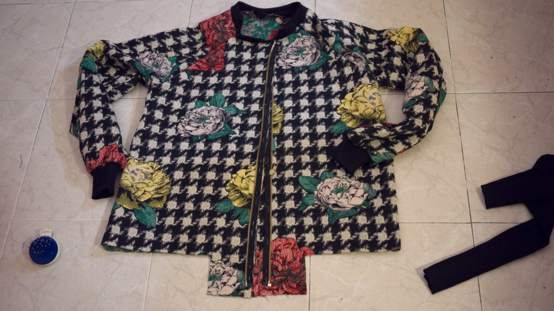 Bomber jacket DIY