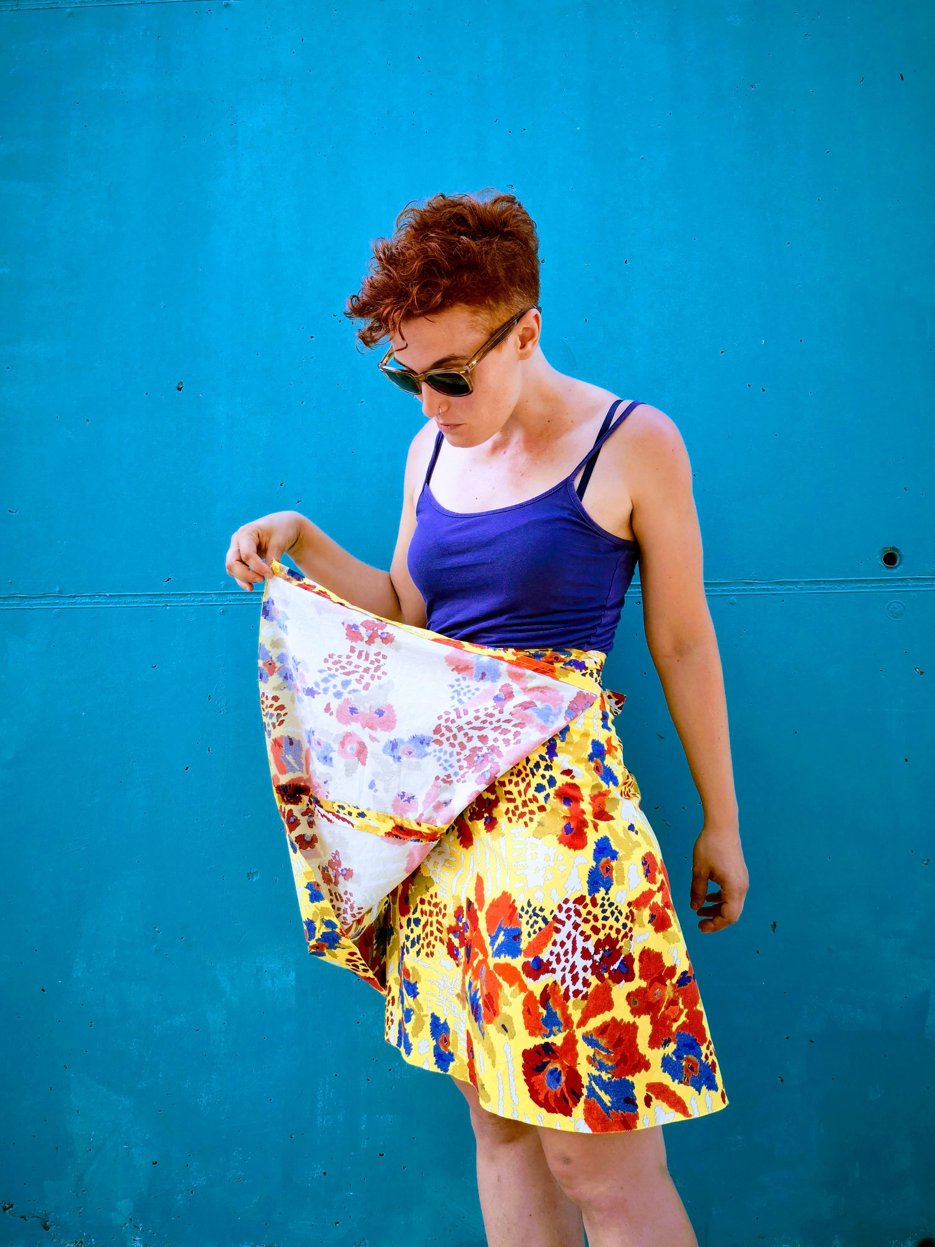 0e0d61293 Cómo hacer una falda pareo estilo 50's – KoserkonK